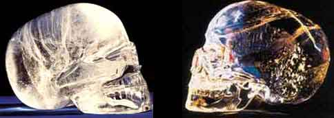 Хрустальный череп - ещё одна загадка древней цивилизации.